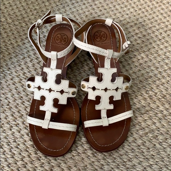 Tory Burch Shoes - Tory Burch block heels - practically brand new!